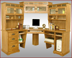 Corner Desk Hutch Custom Corner Desk Hutch All Furniture Space Saving Ideas With