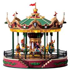 lic limited carnival village jungle carousel with 4 5v adaptor