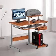 Compact Computer Desk Dual Monitor Computer Desk Wayfair