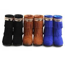 womens boots 25 boots bohemian tassel womens boots boots on luulla