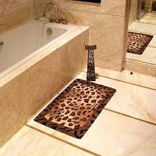 Leopard Bathroom Rugs Leopard Bath Rug Leopard Print Bathroom Rugs Bath Towels And Rugs