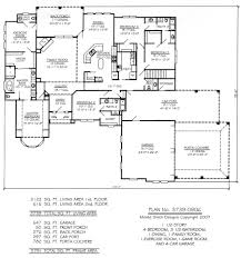Bhg Floor Plans by Clever Design 2 Carport House Plans First Floor Plan Image Of