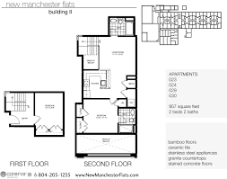 Two Bedroom Floor Plans Two Bedroom Apartments In Richmond Va Manchester District
