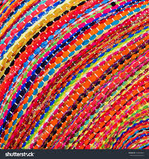 colorful african peruvian style rug surface stock photo 139294805