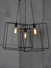 Geometric Pendant Light by Triple Box Pendant