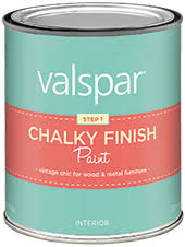 valspar chalky finish paint available colors