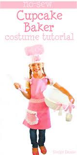 Chef Halloween Costumes Sew Cupcake Baker Halloween Costume Easy Costumes Apron