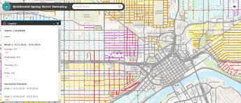 St Paul Campus Map Street Sweeping Operations Saint Paul Minnesota