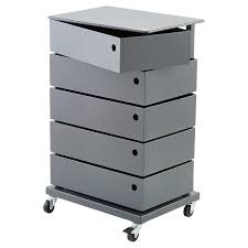 Container Store Shoe Cabinet Anthracite 5 Bin Storage Tower The Container Store