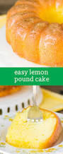 lemon pound cake recipe easy semi homemade pound cake w glaze