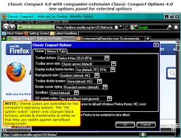 change themes on mozilla environmentalchemistry com firefox theme classic compact