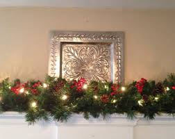 Christmas Banister Garland Mantle Garland Etsy