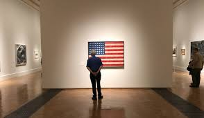 Johns Flag Jasper Johns Who Am I A Retrospective By Edward Lucie Smith