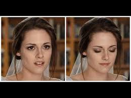 bella swan real movie wedding makeup tutorial twilight saga youtube