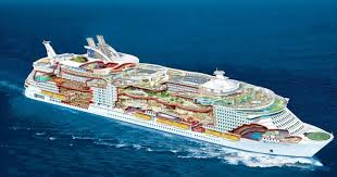 the world u0027s largest cruise is so huge that you will need gps to