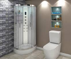 kiswian 900mm x 900mm quadrant steam shower enclosure
