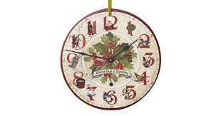 clock ornaments keepsake ornaments zazzle