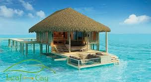 100 water bungalows maldives water bungalows of the sun