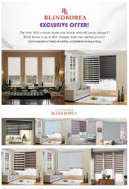 blind korea combi blinds zebra blinds 100 made in korea