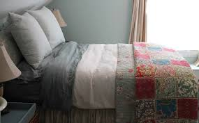 designing domesticity bedding mixing and matching