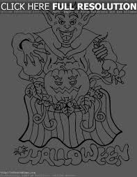 print halloween coloring pages u2013 halloween wizard