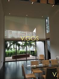 motorized perforated roller blinds u2013 high window u2013 v gos home