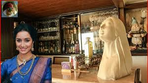 actress shraddha kapoor house inside view shraddha kapoor home