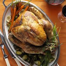 roast turkey recipe taste of home herb roasted turkey recipe herb roasted turkey roasted turkey