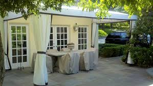 Free Standing Drapes Stationary Patio Awnings Westchester County Ny Fixed Deck Awnings