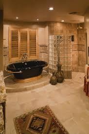 ceramic flooring tile black standalone bathtub porcelain bathroom