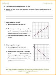 lines of best fit worksheet 28 templates best fit line