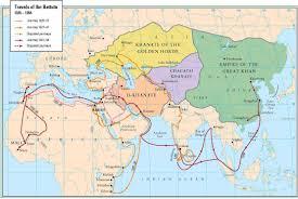 Arabian Peninsula Map Map Of Ibn Battuta U0027s Travels 2224x1488 Mapporn