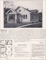 1922 bennett homes ontario vintage house plans 1920s