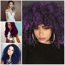 black women with purple hair breathtaking bold hair color ideas for black women haircuts