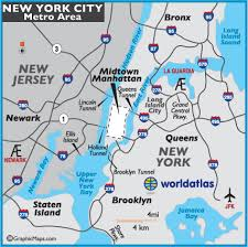 map for new york new york city map and information page