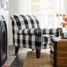 Living Room Chairs On Sale by Lyndee Buffalo Check Black Chair Pier 1 Imports