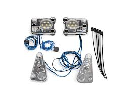 led lights for body shop traxxas lighting kits sets rc model car working headlights tail