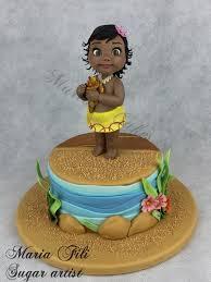 114 best disney u0027s moana cakes images on pinterest birthday cakes