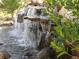 Garden Waterfall Ideas Pondless Water Features Landscape Waterfalls Pondless Patio