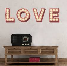 retro cinema marquee letters wall sticker by oakdene designs retro cinema marquee letters wall sticker
