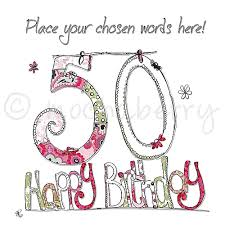50 birthday card personalised 50th birthday cards 50th birthday cards 50th card