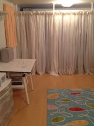 Room Curtains Divider Shower Curtain Room Divider Contemporary Using Curtains As