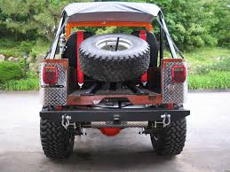 jeep rear bumper with tire carrier certifiablejeep com spare tire carrier installation