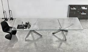 tavoli design cristallo aikido tavolo rotondo in vetro di design sovet