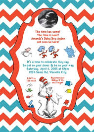 dr seuss baby shower invitations dr seuss baby shower invitations ultrasound photo blue chevron