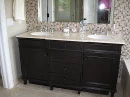 Fine Modern Bathroom Backsplash And Sophisticated Contemporary - Bathroom vanity backsplash ideas