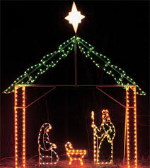 lighted outdoor nativity lighted outdoor world class christmas