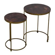 Bronze Accent Table 26 Abc Carpet And Home Abc Carpet Home Nesting