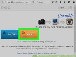 Instagram For Pc How To Upload Pictures From Your Pc To Your Instagram Quora