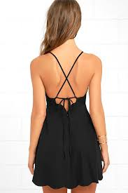 play on curves black backless dress bodice neckline and curves